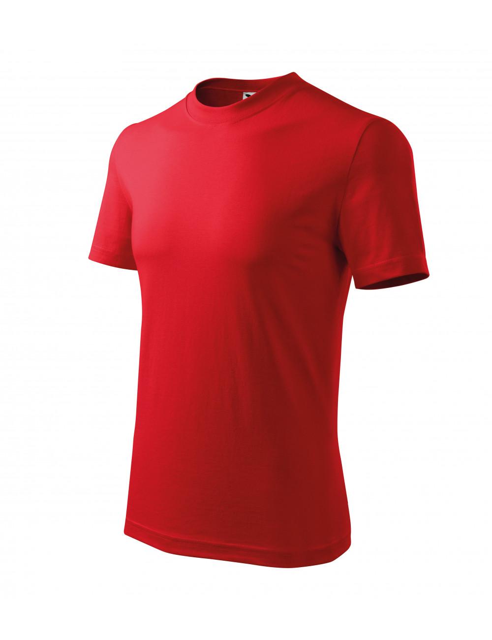 Adler MALFINI Koszulka unisex Classic 101 czerwony