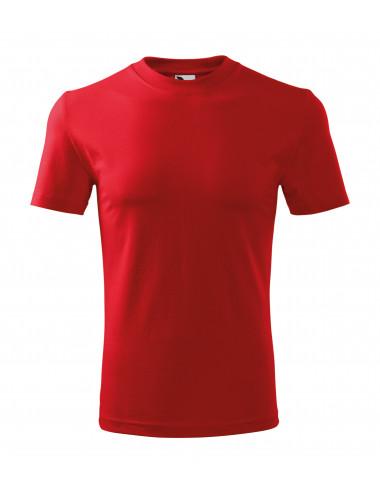 2Adler MALFINI Koszulka unisex Classic 101 czerwony