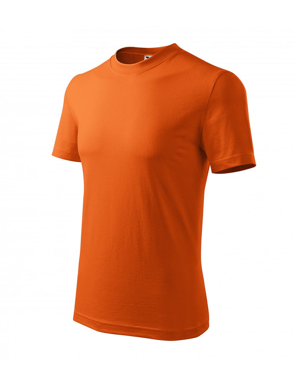 Adler MALFINI Koszulka unisex Classic 101 pomarańczowy