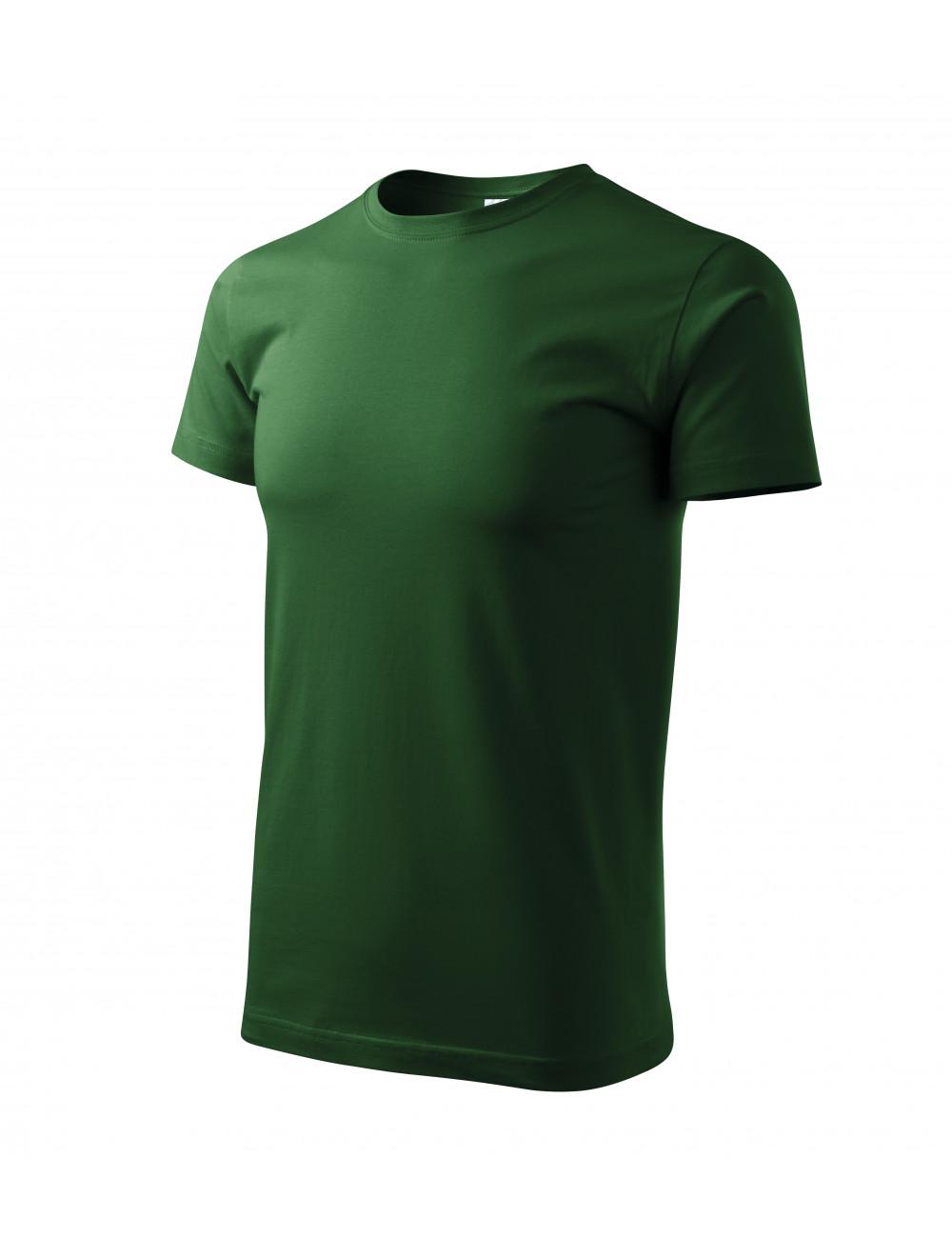 Adler MALFINI Koszulka unisex Heavy New 137 zieleń butelkowa