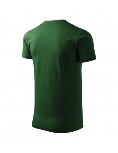 2Adler MALFINI Koszulka unisex Heavy New 137 zieleń butelkowa