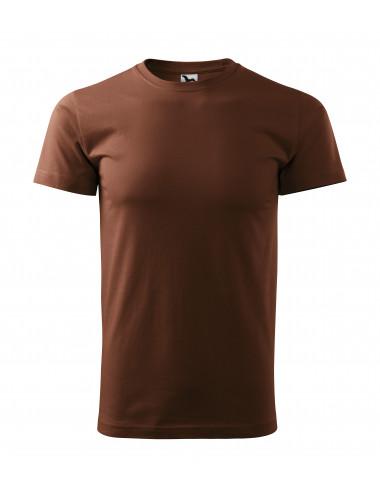 2Adler MALFINI Koszulka unisex Heavy New 137 czekoladowy
