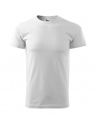 2Adler MALFINI Koszulka unisex Heavy New 137 biały