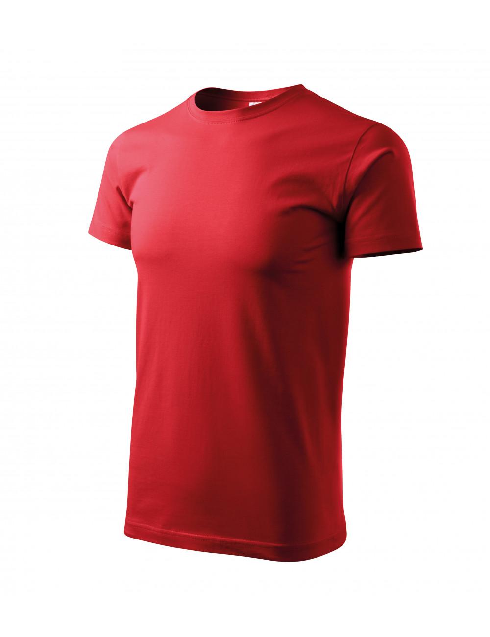 Adler MALFINI Koszulka unisex Heavy New 137 czerwony