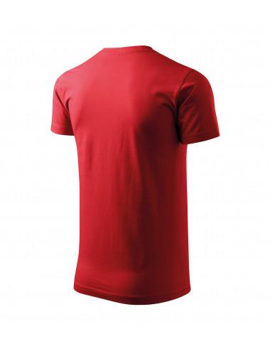 2Adler MALFINI Koszulka unisex Heavy New 137 czerwony