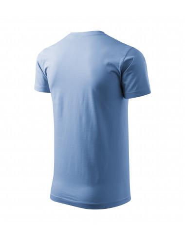 2Adler MALFINI Koszulka unisex Heavy New 137 błękitny