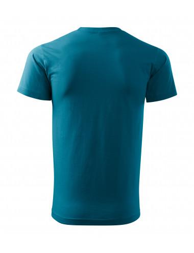 2Adler MALFINI Koszulka unisex Heavy New 137 ciemny turkus