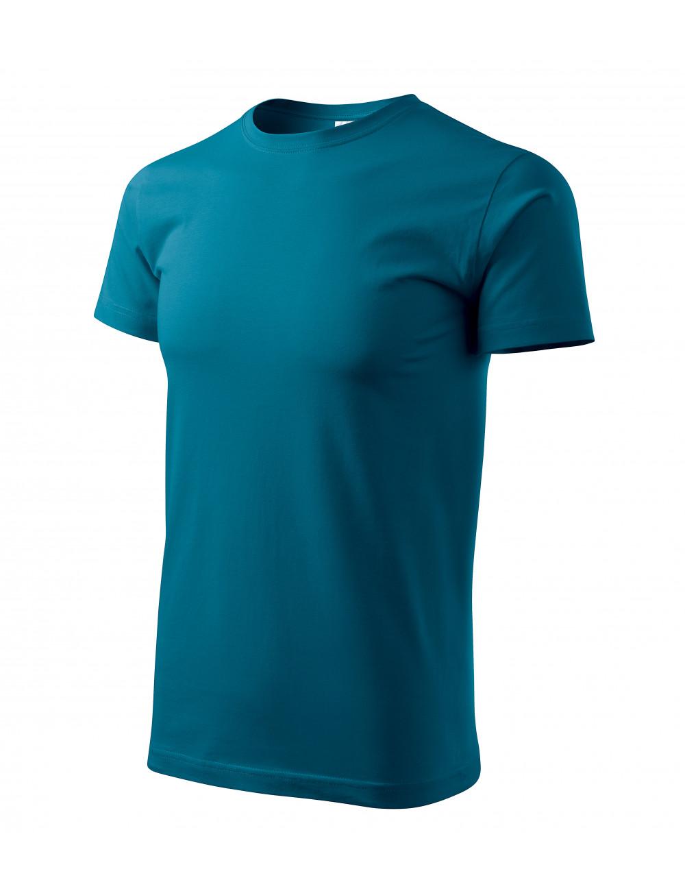 Adler MALFINI Koszulka unisex Heavy New 137 petrol blue