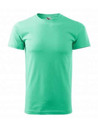 2Adler MALFINI Koszulka unisex Heavy New 137 miętowy