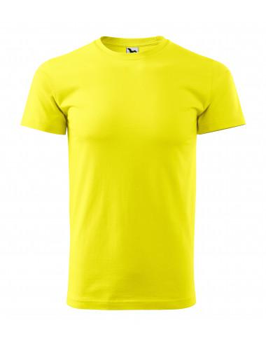 2Adler MALFINI Koszulka unisex Heavy New 137 cytrynowy