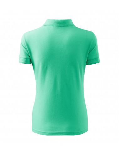 2Adler MALFINI Koszulka polo damska Pique Polo 210 miętowy