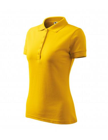 2Adler MALFINI Koszulka polo damska Pique Polo 210 żółty
