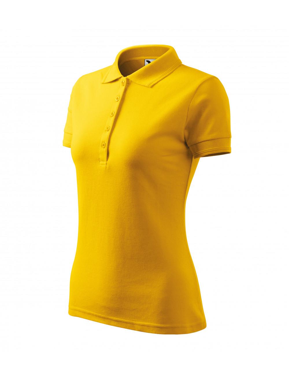 Adler MALFINI Koszulka polo damska Pique Polo 210 żółty