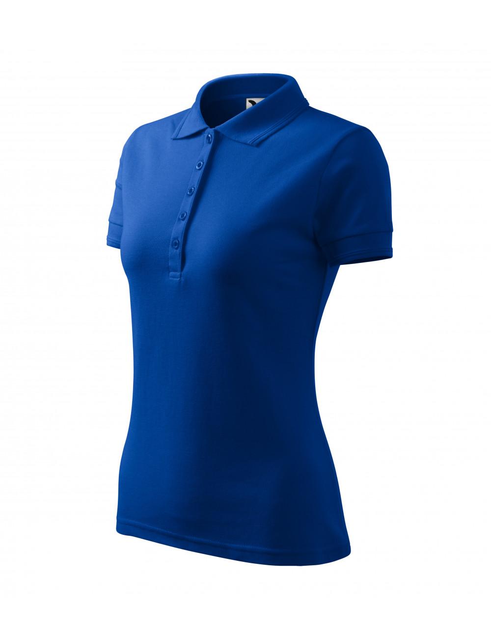 Adler MALFINI Koszulka polo damska Pique Polo 210 chabrowy