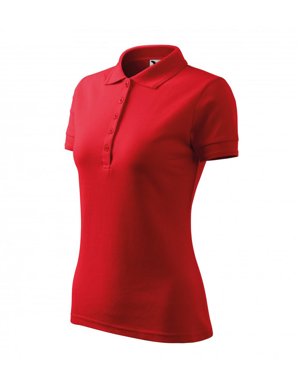 Adler MALFINI Koszulka polo damska Pique Polo 210 czerwony