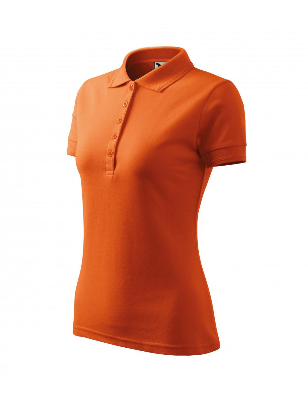 Adler MALFINI Koszulka polo damska Pique Polo 210 pomarańczowy