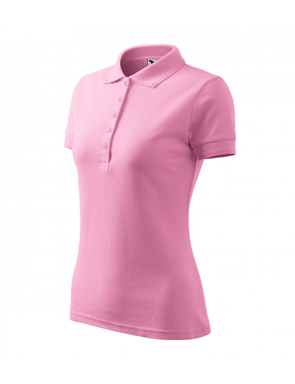 Adler MALFINI Koszulka polo damska Pique Polo 210 różowy