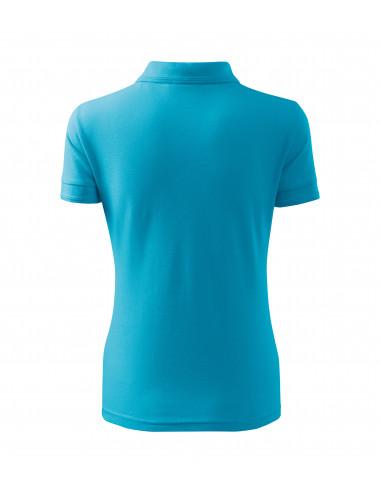 2Adler MALFINI Koszulka polo damska Pique Polo 210 turkus