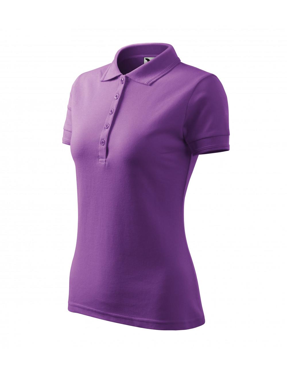 Adler MALFINI Koszulka polo damska Pique Polo 210 fioletowy