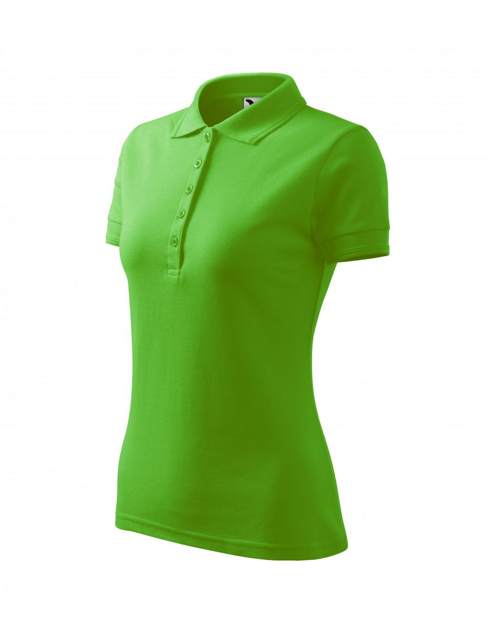 Adler MALFINI Koszulka polo damska Pique Polo 210 green apple