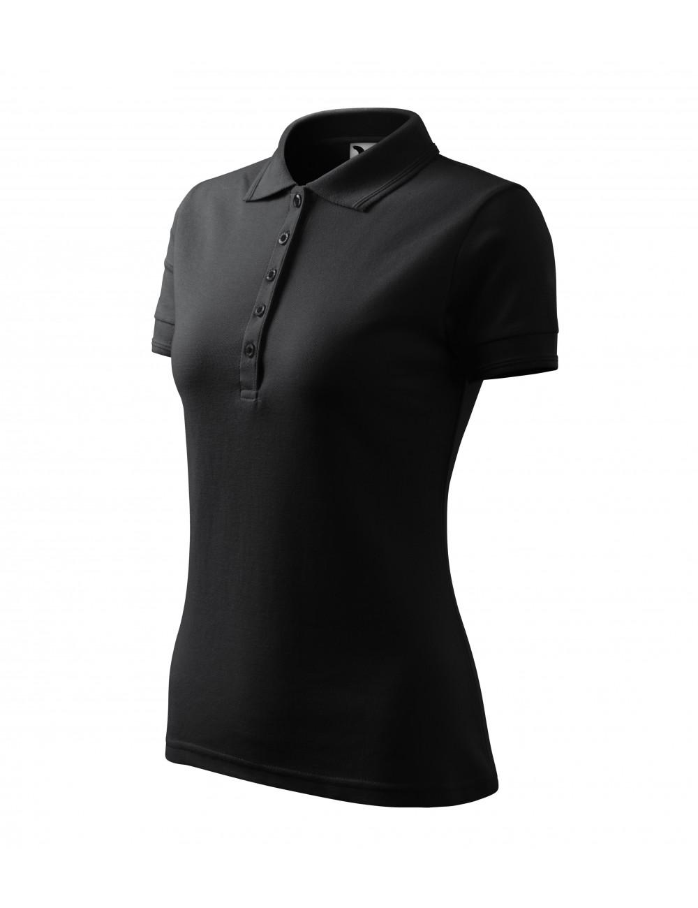 Adler MALFINI Koszulka polo damska Pique Polo 210 ebony gray