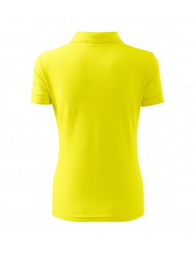 2Adler MALFINI Koszulka polo damska Pique Polo 210 cytrynowy