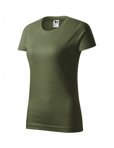 2Adler MALFINI Koszulka damska Basic 134 khaki