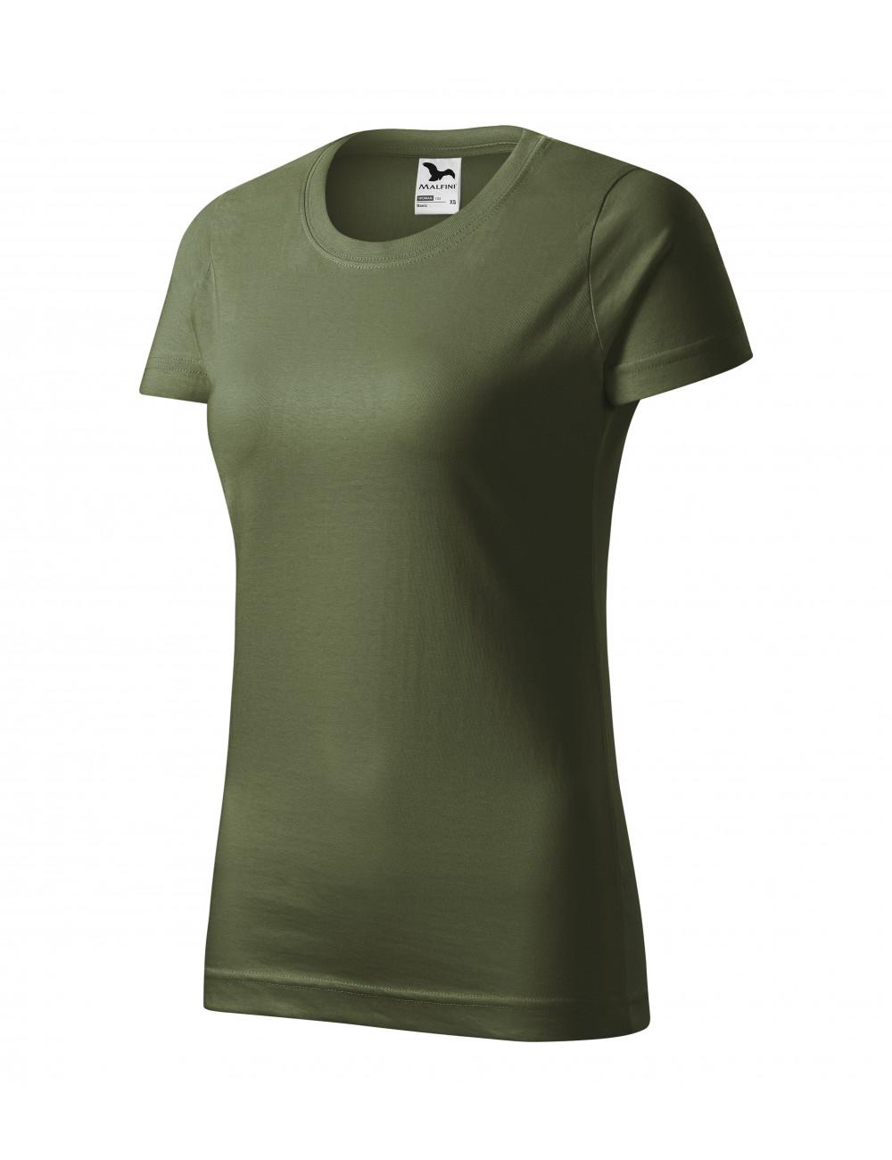 Adler MALFINI Koszulka damska Basic 134 khaki