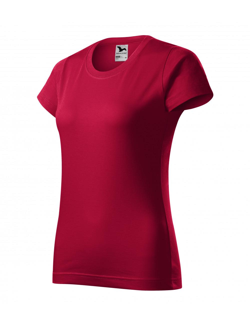 Adler MALFINI Koszulka damska Basic 134 marlboro czerwony