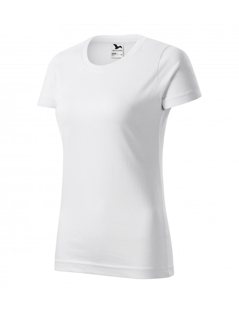 Adler MALFINI Koszulka damska Basic 134 biały