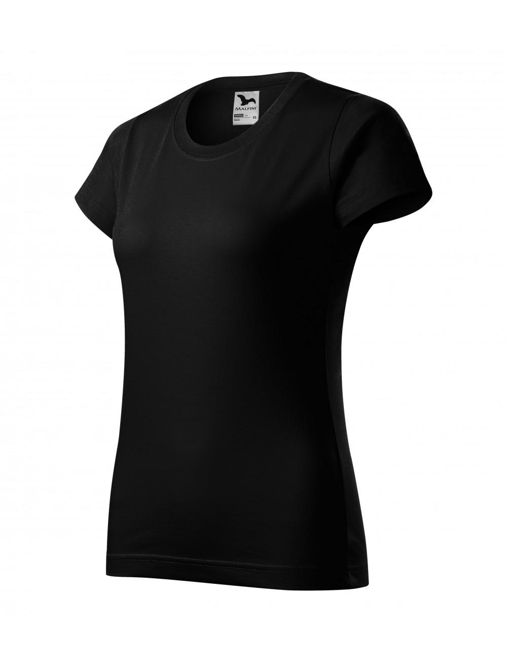 Adler MALFINI Koszulka damska Basic 134 czarny