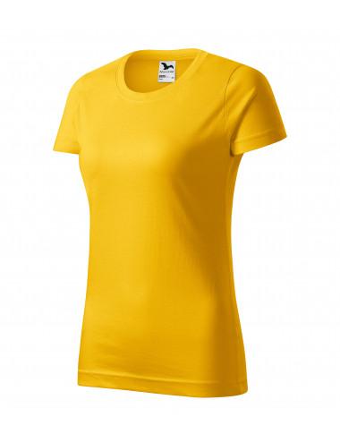 2Adler MALFINI Koszulka damska Basic 134 żółty