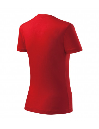 2Adler MALFINI Koszulka damska Basic 134 czerwony