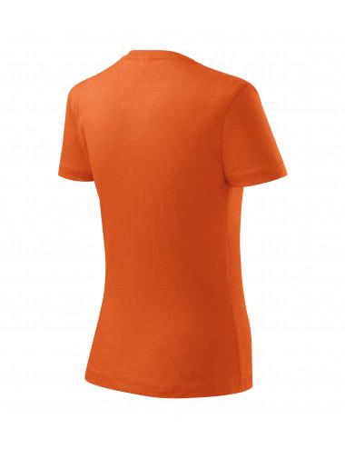 2Adler MALFINI Koszulka damska Basic 134 pomarańczowy