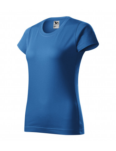 Adler MALFINI Koszulka damska Basic 134 lazurowy