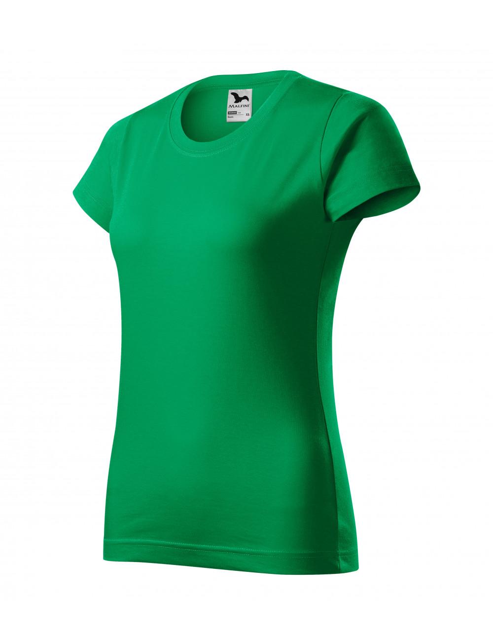 Adler MALFINI Koszulka damska Basic 134 zieleń trawy