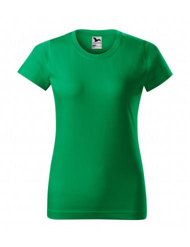 2Adler MALFINI Koszulka damska Basic 134 zieleń trawy