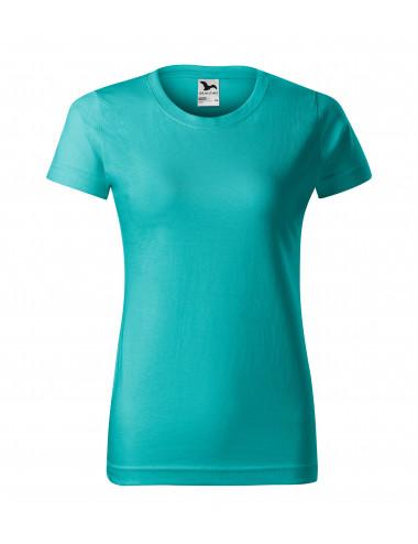 2Adler MALFINI Koszulka damska Basic 134 szmaragdowy
