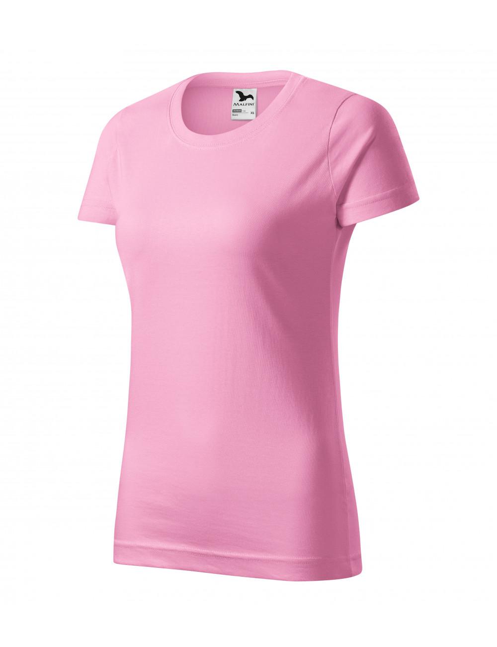 Adler MALFINI Koszulka damska Basic 134 różowy