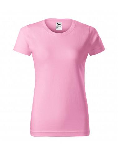 2Adler MALFINI Koszulka damska Basic 134 różowy