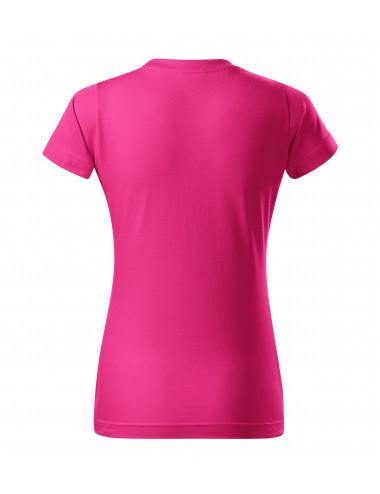 2Adler MALFINI Koszulka damska Basic 134 czerwień purpurowa
