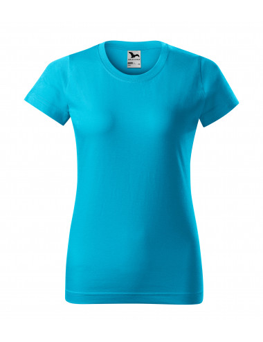2Adler MALFINI Koszulka damska Basic 134 turkus