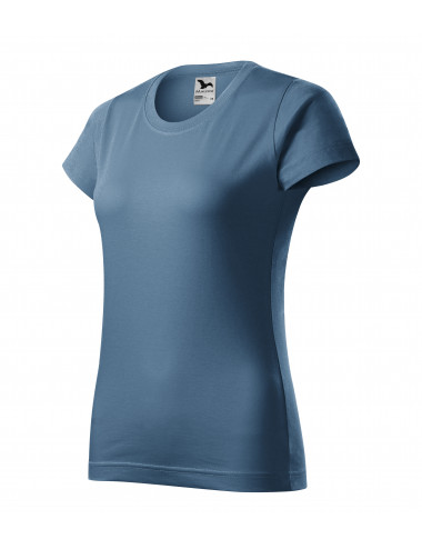 2Adler MALFINI Koszulka damska Basic 134 denim