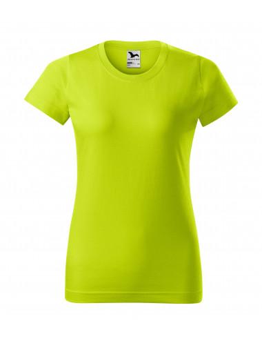 2Adler MALFINI Koszulka damska Basic 134 limetka