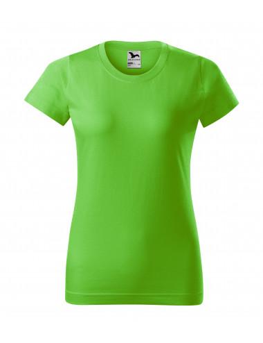 2Adler MALFINI Koszulka damska Basic 134 green apple