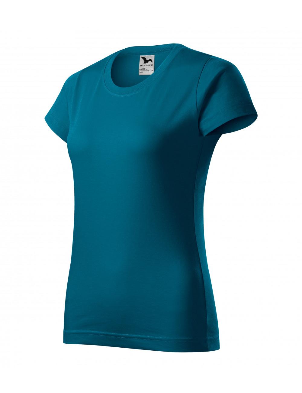 Adler MALFINI Koszulka damska Basic 134 petrol blue