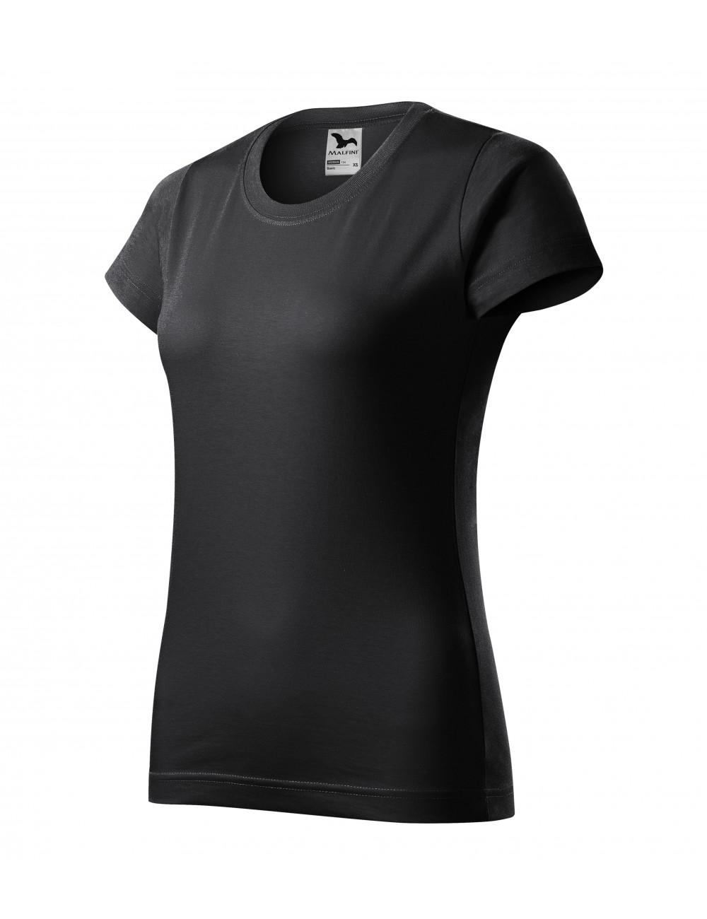 Adler MALFINI Koszulka damska Basic 134 ebony gray