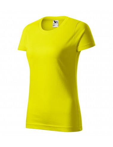 2Adler MALFINI Koszulka damska Basic 134 cytrynowy