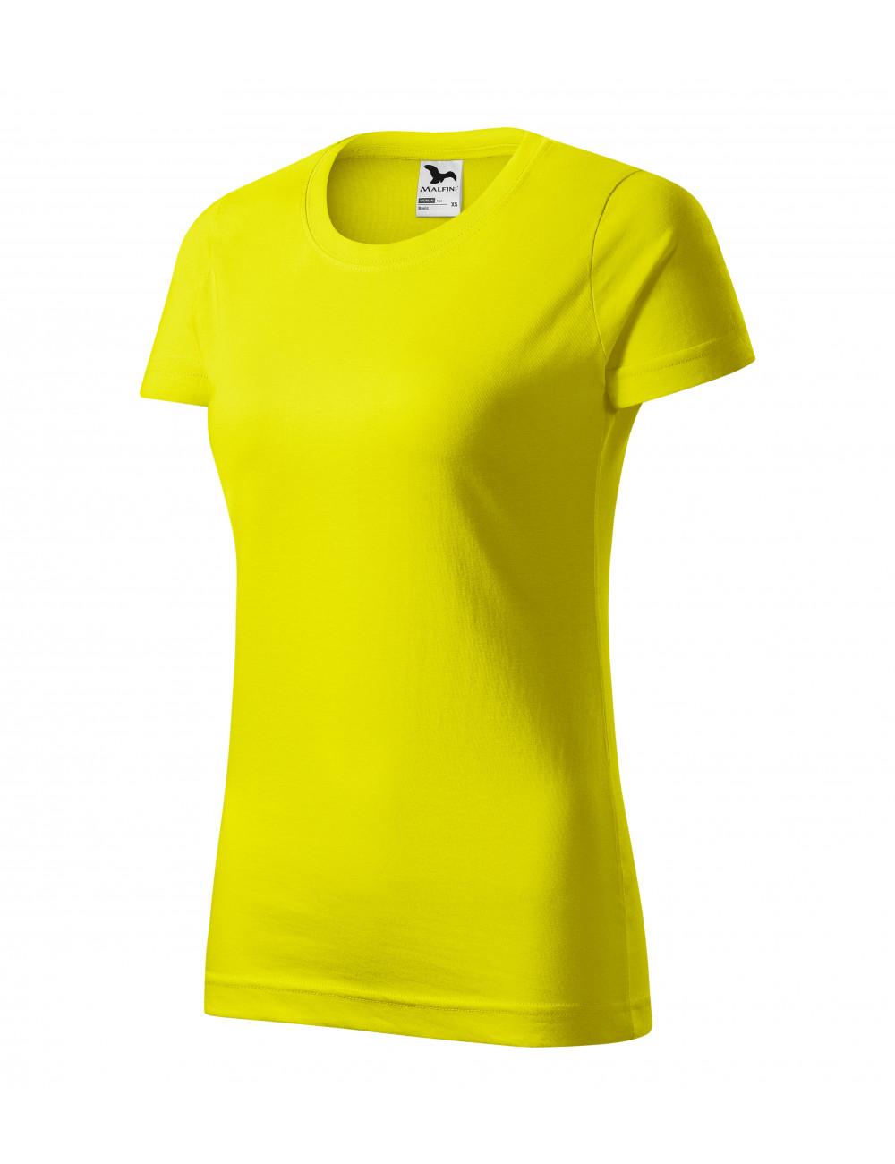 Adler MALFINI Koszulka damska Basic 134 cytrynowy