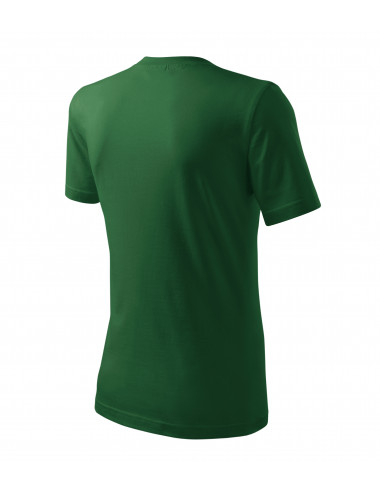 2Adler MALFINI Koszulka męska Classic New 132 zieleń butelkowa